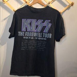 Vintage KISS band shirt